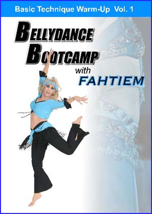 Bellydance Bootcamp with Fahtiem, CD